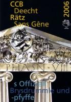 Titelseite Programmheft 2006